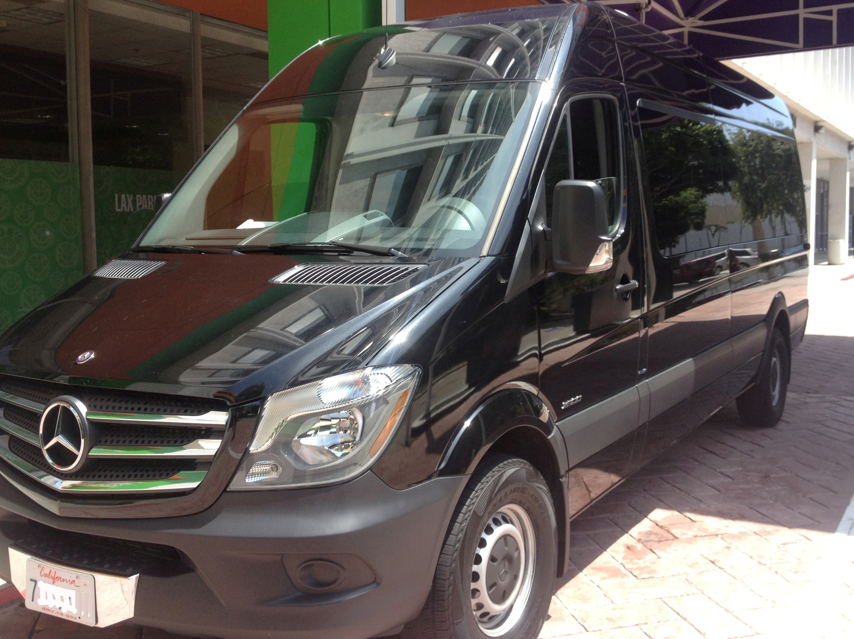 a van benz passenger rental rent sprinter accommodation mercedes for