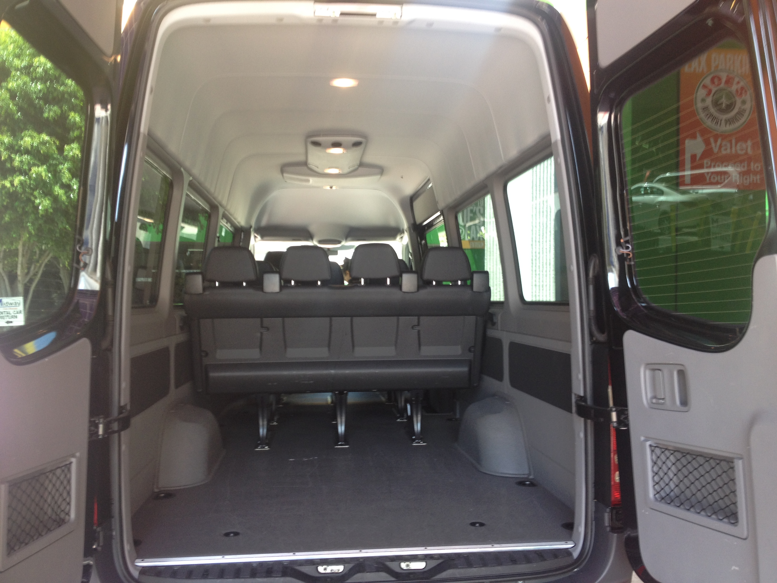 Van captain chair - The Luxury Sprinter Van With Up To 12 Captain Chairs Also Features Loads Of Hightech Safety Gear Including Crosswind