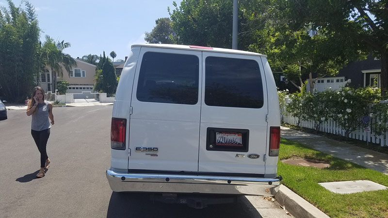 Lax Car Rental  Passenger Van